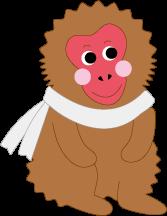 JIGOKUDANI YAEN-KOEN PR Charactor Snow Monkey [YUKIMON]